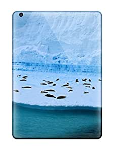 For Ipad Air Tpu Phone Case Cover(seals On Ice)