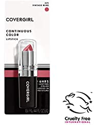 COVERGIRL Continuous Color Lipstick Vintage Wine 425, .13 oz (packaging may vary)