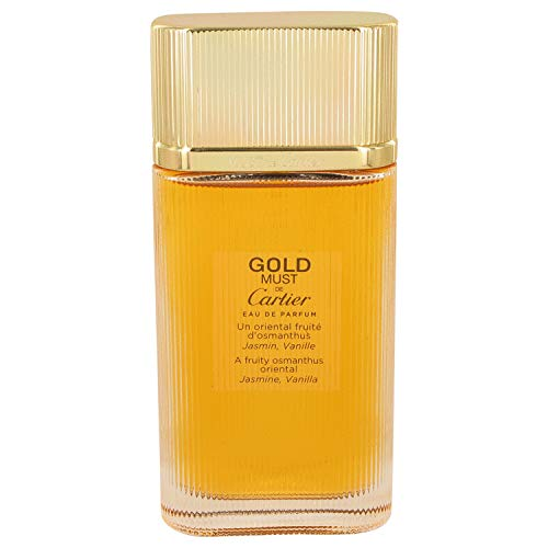 Must De Cartier Gold by Cartier Eau De Parfum Spray (Tester) 3.3 oz for Women