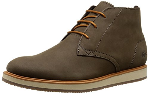 Lacoste Men's Millard Chukka 116 1 Chukka Boot, Dark Brown, 8 M US