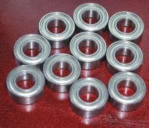 "10 Balls Bearing SR188ZZ 1//4/"" 1//2/"" 3//16/"" Ball Bearings"