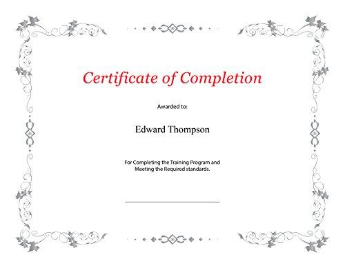 Amazon.com : St. James Premium Weight, Enhanced Foil Certificate ...