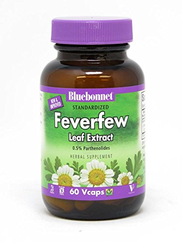 Feverfew Leaf Extract - BLUEBONNET Nutrition STANDARDIZED Feverfew Leaf Extract