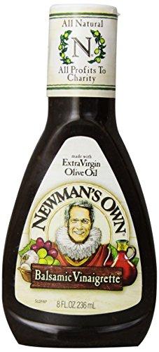 Newman's Own Dressing, Balsamic Vinegrette, 8 oz