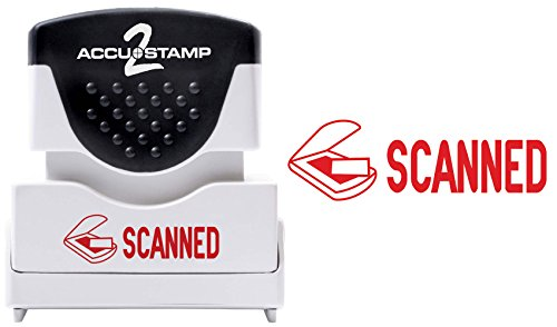 (ACCU-STAMP2 Message Stamp with Shutter, 1-Color, SCANNED, 1-5/8