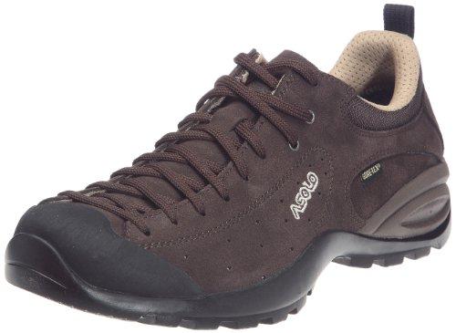 Asolo - Zapatillas de montaña de cuero para hombre, color marrón, talla 43.5