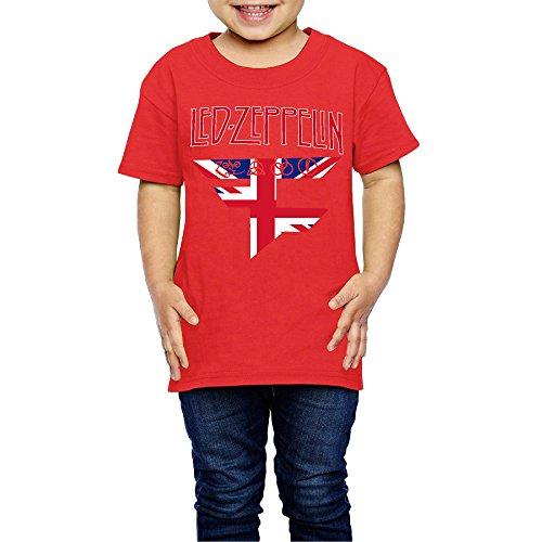 tanxj-unisex-childrens-kids-fazeclan-ledzeppelin-logo-t-shirts-2-6-years