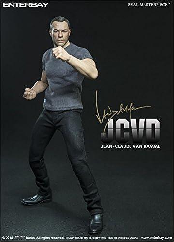 1//6 Enterbay Real Masterpiece Jean-Claude Van Damme JCVD Hard Target Figure New