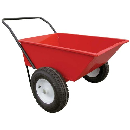(EZ-Haul All-Purpose Red Metal Wagon)