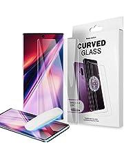 واقي شاشة 9H لسامسونج جالاكسي S20 مع زجاج نانو LWHBUV كامل من الزجاج المقسى - شفاف