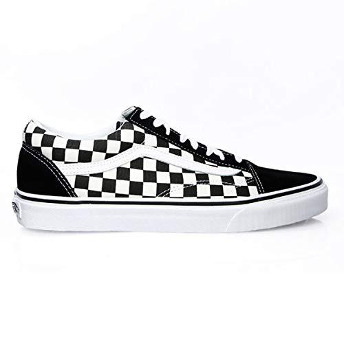 Vans Unisex Old Skool  Skate Shoe  Black/White)