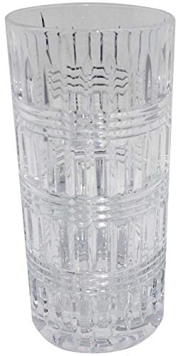 Lauren By RALPH LAUREN Ettrick Pattern Highball Drinkware Set of 4 Crystal Glasses 11.6 Ounces by Lauren by Ralph Lauren (Image #1)