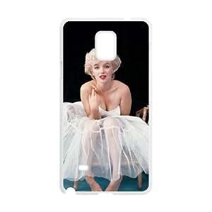 Samsung Galaxy Note 4 Cell Phone Case White Marilyn Monroe SLI_493172