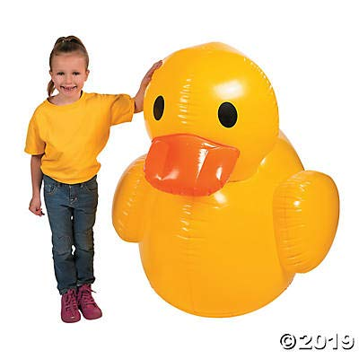 Fun Express Giant Inflatable Rubber Duck (4 feet) by Fun Express
