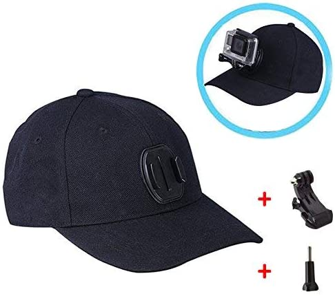 Etc Baseball Cap Camera Mounts Clamps Applicable Activity : Baseball Cap XIANYUNDIAN Compatible with GoPro Accessories Outdoor Sun Hat with Hook J Buckle Mount Screw Suitable Small Ant Cameras