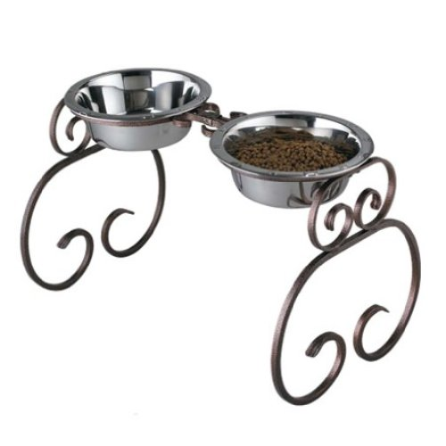 QT Dog 3-Quart Classic Stand, Copper, 16-Inch by QT Dog