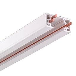 NICOR Lighting 10004WH Track Rails, White