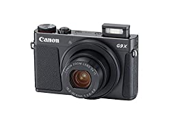 Canon Powershot G9 X Mark Ii Compact Digital Camera W1 Inch Sensor & 3inch Lcd - Wi-fi, Nfc, Bluetooth Enabled (Black)