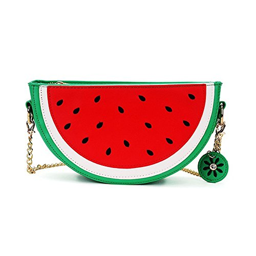 Latest Novelty Cute Watermelon Shape Shoulder Mini Bag for Women Photo #1