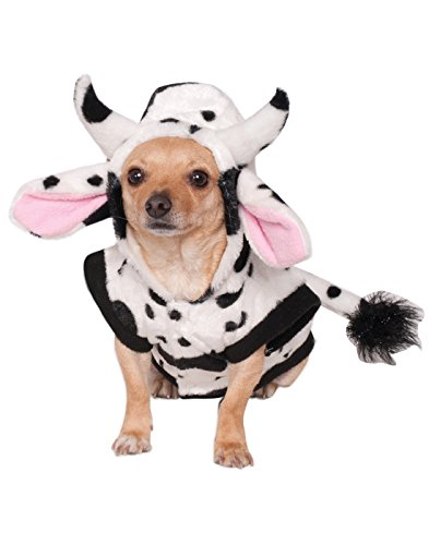 Cow Costume For Dog (Rubies Costume Company Cow Pet Costume, Large)