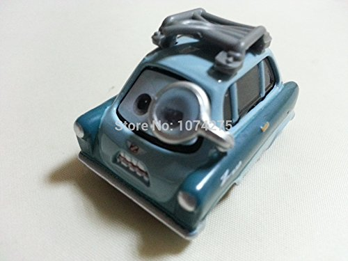 Car Toys Pixar 1:55 Scale Diecast 2 Professor Z With Glass Metal Toy and Car Collectors - Francesco Cars 2 Costume