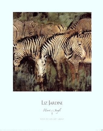Liz Jardine - Heart of the Jungle I