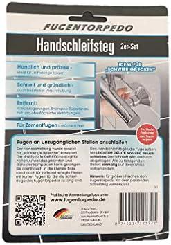 Fugentorpedo Handschleifsteg 3mm kurz 2 Stück aus Die Höhle der Löwen VOX