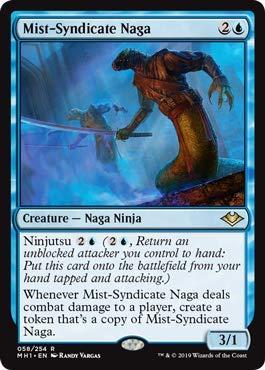 Amazon.com: Magic: The Gathering - Mist-Syndicate Naga ...