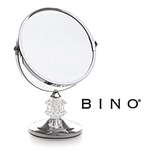 BINO 'The Bijon' 6-Inch Double-Sided Mirror with 3x Magnification 1