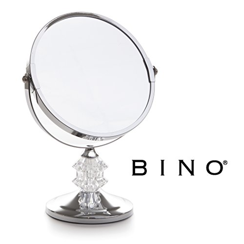 BINO 'The Bijon' 6-Inch Double-Sided Mirror with 3x Magnification