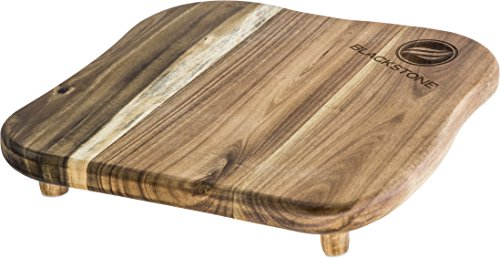 Blackstone Signature Accessories   Premium Quality Grill Griddle Cutting Board With Legs   Made From Koa Wood   Designed For Top Of Griddle Or Countertop   Use To Cut And Chop Vegetables Or Meat