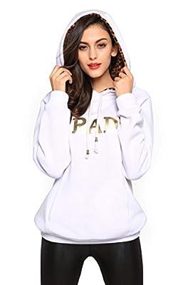 Meaneor Women's Long Sleeve Raglan Crewneck Tunic Sweatshirt & Hoodie