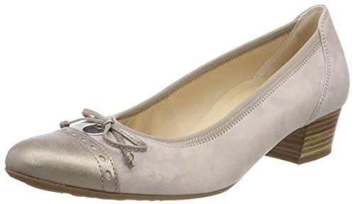 Gabor Comfort Fashion, Scarpe con Tacco Donna Multicolore (Light Nude/Mutaro)