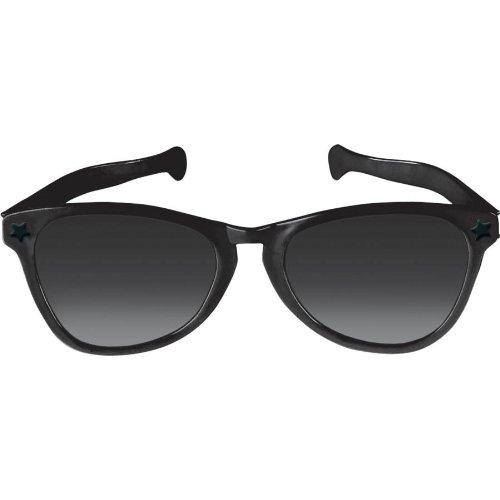 Black Jumbo Sunglasses (Giant Sun Glasses)