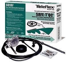 SeaStar SS13714 Safe-T Quick Connect Rotary Steering System, 14 Feet - Safe T Ii Steering