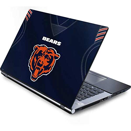 - Skinit Chicago Bears Team Jersey Generic 15.4in Laptop Skin - Officially Licensed NFL Laptop Decal - Ultra Thin, Lightweight Vinyl Decal Protection