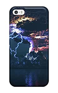 Best 9387385K68931535 High Impact Dirt/shock Proof Case Cover For ipod touch4 (angry Volcano)