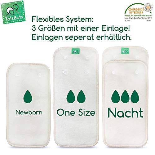 TotsBots PeeNut /Überhose 2-9 kg 2in1 System - PlopTropfen Gr/ö/ße Newborn