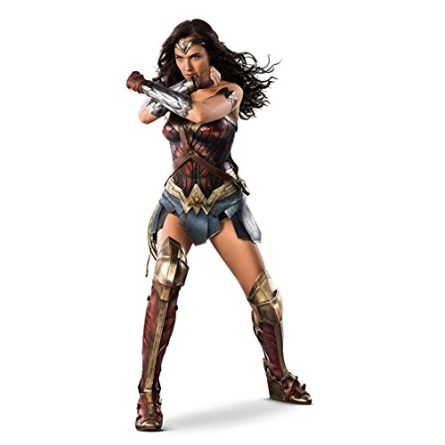 Wonder Woman (2017) 8 inch x 10 inch PHOTOGRAPH Gal Gadot Full Body Wide Stance Arms Crossed Body Turned Slightly Right White Background kn
