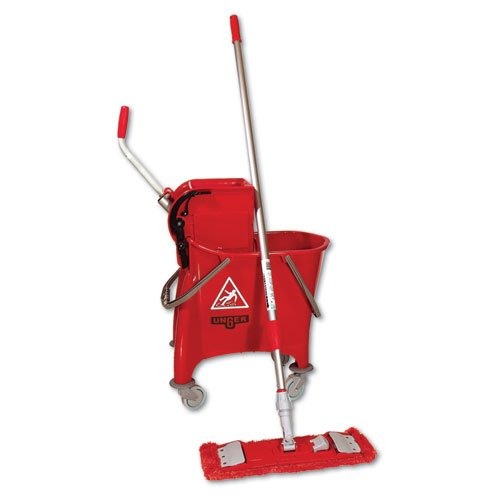 Unger Side-Press Restroom Mop Bucket FloorPack UNG SMFPR