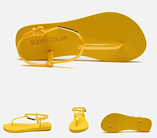 de las mujeres planas deportivo playa sandalia sandalias de los zapatos atléticos casuales , 12 , 36