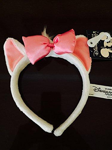 Disney Aristocats Marie Cat Headband Head Band Ears Halloween Costume Accessory One Size (Aristocats Halloween Costumes)