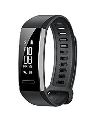 Huawei Band 2 Pro All-in-One Activity Tracker Smart Fitness Wristband | GPS | Multi-Sport Mode| Heart Rate | Sleep Monitor | 5ATM Waterproof (US Warranty)