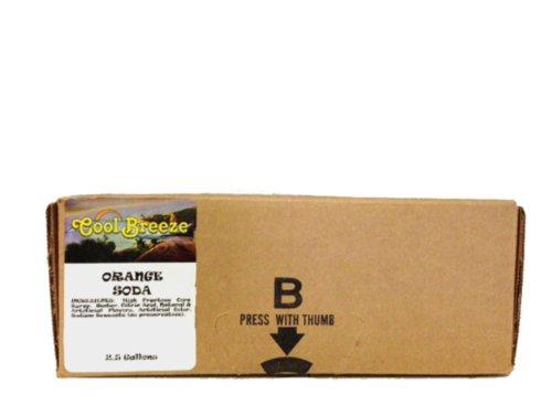 Orange Soda Syrup Concentrate 2.5 Gallon Bag in Box Sodastream