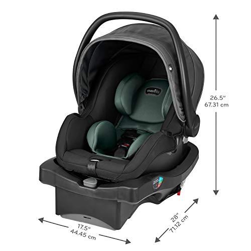 Evenflo LiteMax DLX Infant Car Seat, Mallard