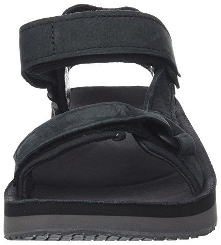 Premier Sandalen Teva Original Black Leather Schwarz Universal Herren M PwCq6T