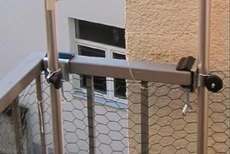 - sin varillas - Solo - Soporte con garras) hasta 35 mm - Holly® Gatos redes - Soporte de montaje para varillas redondas de hasta 30 mm de diámetro - 6 x ...