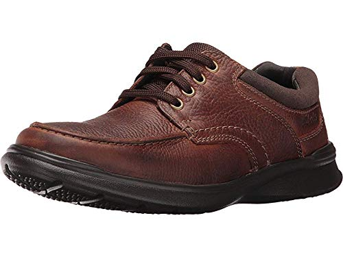 Clarks Men's Cotrell Edge Oxford, Tobacco Oily Leather, 9.5 M US