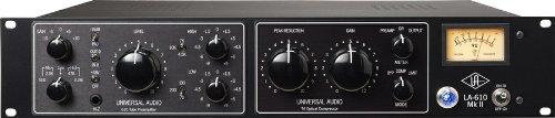 (Universal Audio LA-610 Mk II Classic Tube Recording Channel)