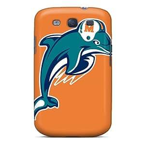 MWV47PKTI Case Cover, Fashionable Galaxy S3 Case - Miami Dolphins